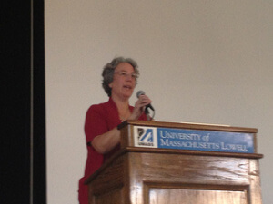 Beth Sawin at UMass Lowell: Climate Change Solutions for the Future We Need