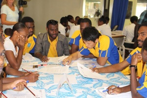 Vanuatu Youth Hold First Mock-Climate Negotiation in the Pacific Islands