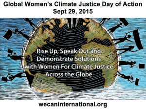 Multisolving on Global Women's Climate Justice Day