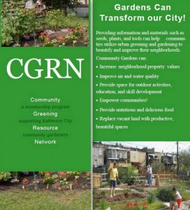 Baltimore's Community Greening Resource Network Supports Urban Gardeners