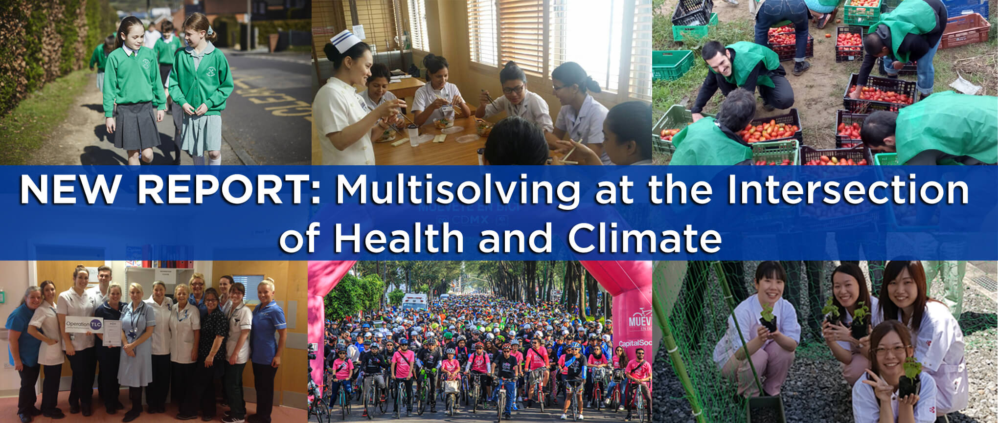 New report: Multisolving at the Intersection of Health and Climate