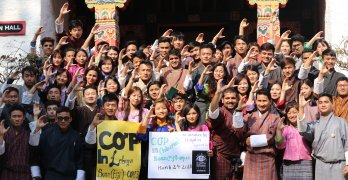 First World Climate Simulation in Bhutan Yields Commitments